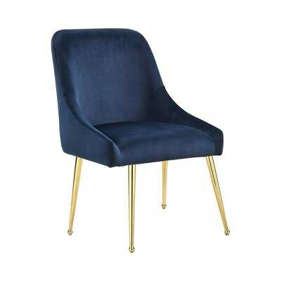 Tuley Upholstered Side Chair in Blue - Wayfair