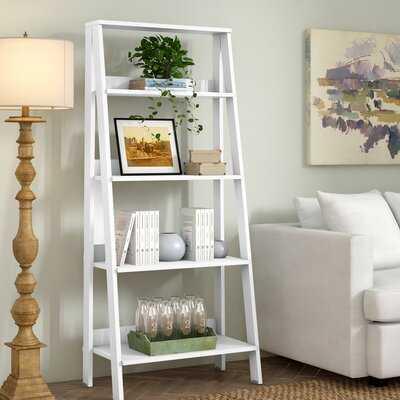"""Gudbrand 55"""" H x 24"""" W Ladder Bookcase - Wayfair"""