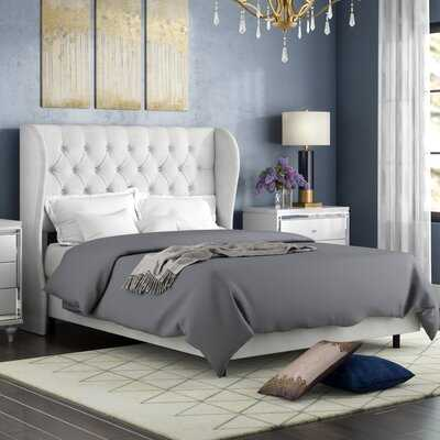 Alcantara Diamond Upholstered Standard Bed - Wayfair
