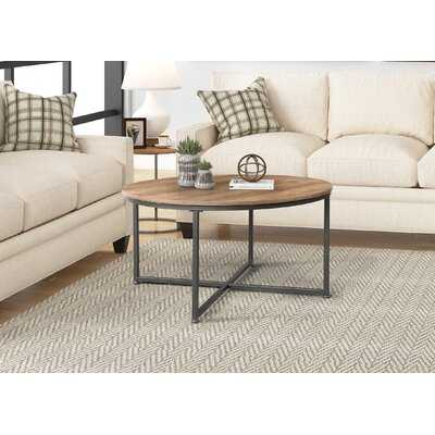 Round Metal Coffee Table - Wayfair