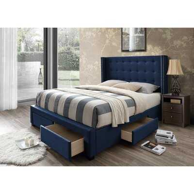 Kerens Upholstered Storage Standard Bed - AllModern