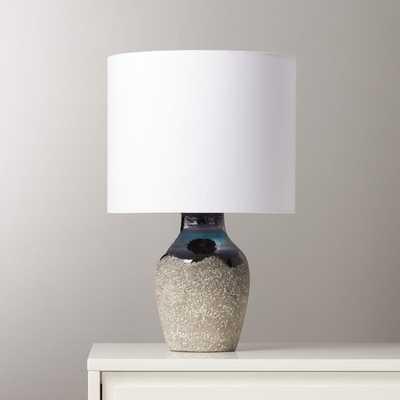 Zena Black Table Lamp - CB2