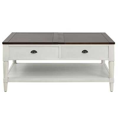 Arquette Solid Wood Lift Top Coffee Table with Storage - Wayfair