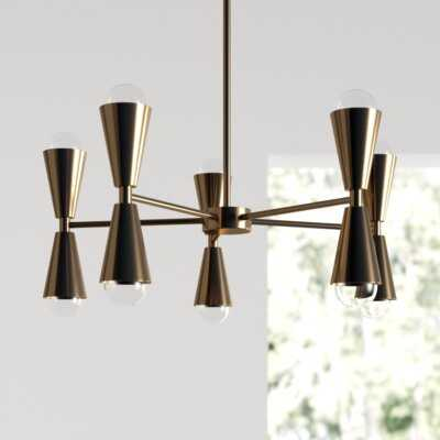 Powersville 10-Light Sputnik Chandelier - AllModern