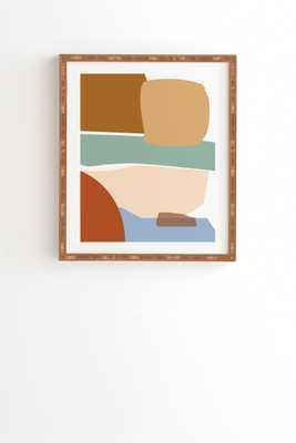 "Reminiscense 01 by mpgmb - Framed Wall Art Bamboo 30"" x 30"" - Wander Print Co."