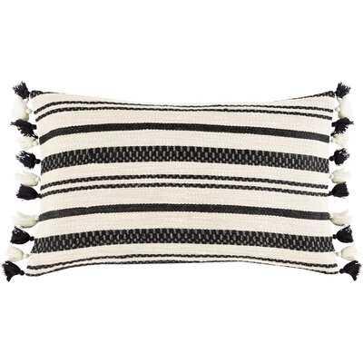 Rankins Cotton Striped Lumbar Pillow - Wayfair