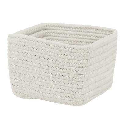 Braided Craft Fabric Basket, 12 x 12 x 8 - Wayfair