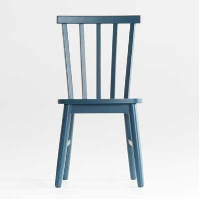 Shore Midnight Blue Kids Chair - Crate and Barrel