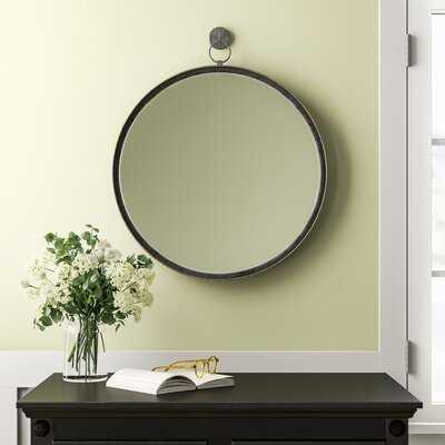Kade Suspended Round Wall Mirror - Birch Lane