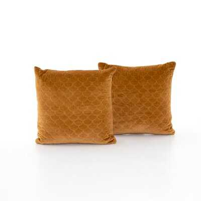 Dey Square Cotton Pillow Cover & Insert - AllModern