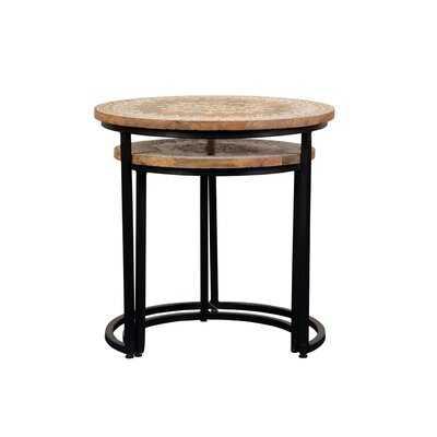 Mehendi Nesting Tables - Wayfair