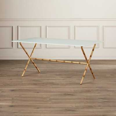 Rex Cross Legs Coffee Table - Wayfair