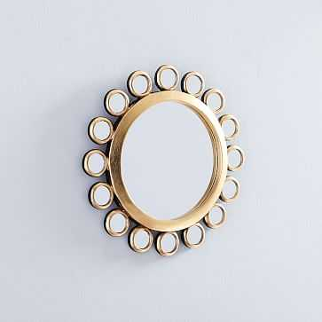 Peruvian Wall Mirror, Large Sun - West Elm