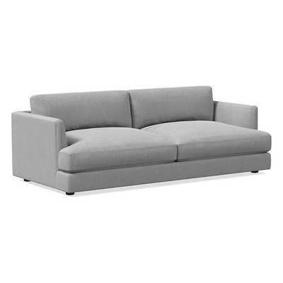 Haven Sofa, Trillium, Sunbrella Performance Chenille, Fog, Concealed Support - West Elm