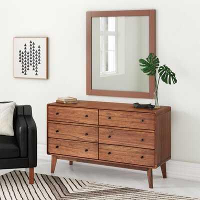 Seville 6 Drawer Double Dresser - AllModern