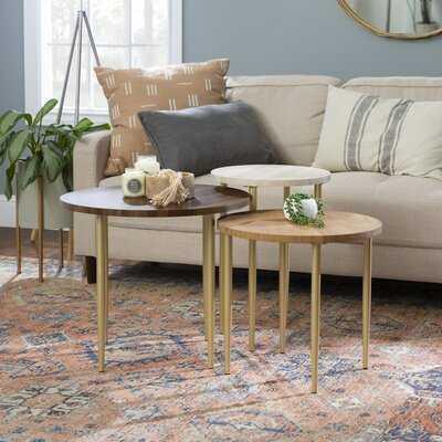 Schmid 3 Piece Coffee Table Set - Wayfair
