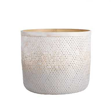 Gray Ombre Woven Catchall, Gray Ombre - Pottery Barn Teen