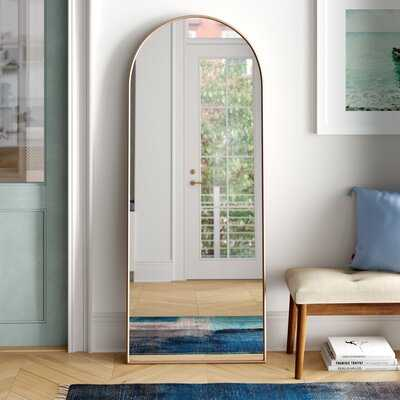 Modern Arch Floor Mirror - Wayfair