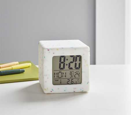 Light Up Confetti Digital Clock - Pottery Barn Kids