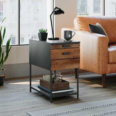 Gulzar End Table with Storage - Wayfair