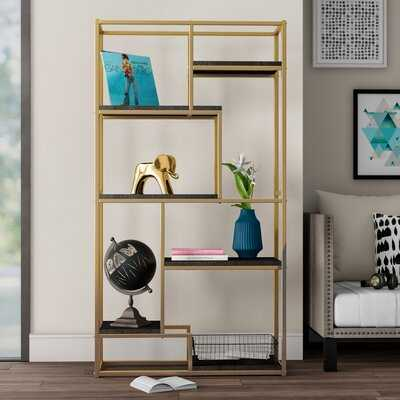 Stambaugh Geometric Bookcase - Wayfair