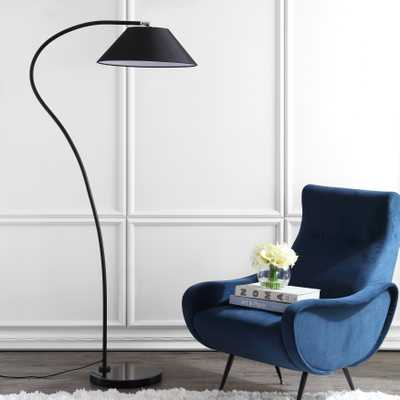Lumi Arc 69-Inch H Floor Lamp - Black - Arlo Home - Arlo Home