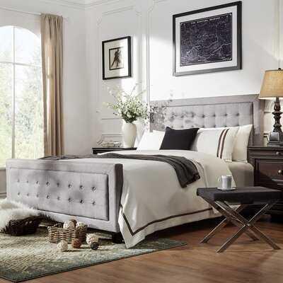 Cassville Upholstered Standard Bed - Wayfair