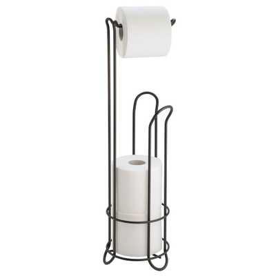 interDesign Classico Toilet Paper Holder in Bronze - Home Depot