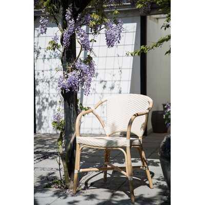 Valerie Rattan Patio Dining Chair - Wayfair