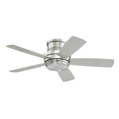 """44"""" Cedarton Hugger 5 Blade LED Ceiling Fan, Light Kit Included - Birch Lane"""