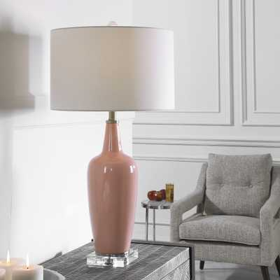 Anastasia Light Pink Table Lamp - Hudsonhill Foundry