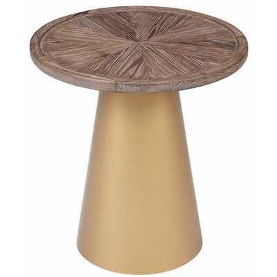 Jourdan Pedestal End Table - Wayfair