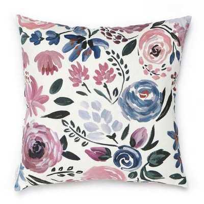 """Caitlin Wilson Design English Garden Linen Pillow Cover Size: 20"""" x 20"""" - Perigold"""