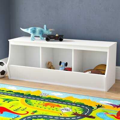 Leonor Stackable 3 Bin Storage Cubby - Wayfair