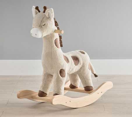 Giraffe Plush Nursery Rocker - Pottery Barn Kids