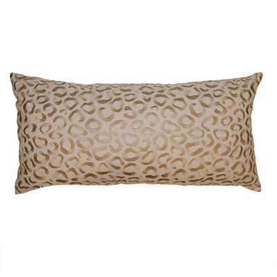 Square Feathers Restu Feathers Animal Print Pillow - Perigold