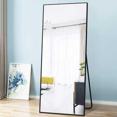 Abad Simple Oversized Thin Aluminum Alloy Modern Full Length Mirror - Wayfair