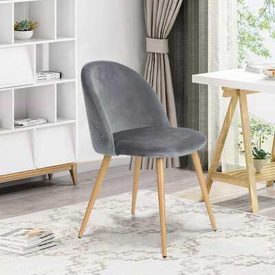 Marston Velvet Side Chair (Set of 2) - Wayfair