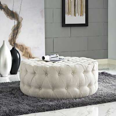 Kenedy Tufted Cocktail Ottoman - Wayfair