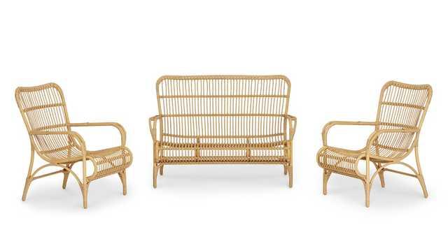 Trella Natural Sofa Set - Article
