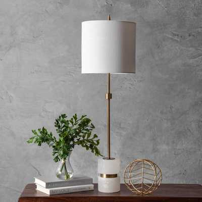 "Charlotte 31""  Marble Table Lamp - Loom 23"