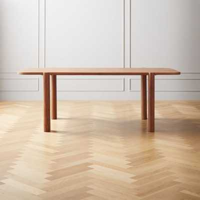 Camille Acacia Wood Dining Table - CB2