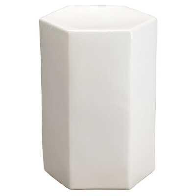 Jamie Young Company Porto End Table Color: White - Perigold