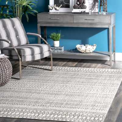 Catherine Henna Tribal Bands Area Rug - Loom 23