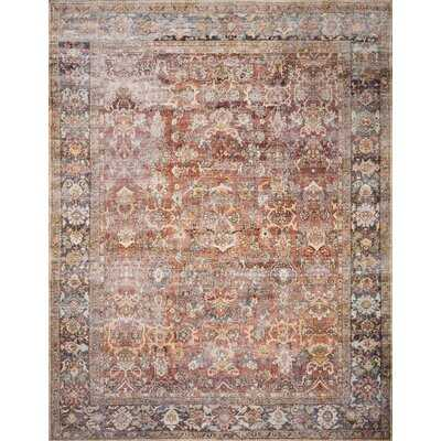 Wicksham Oriental Spice Area Rug - Wayfair