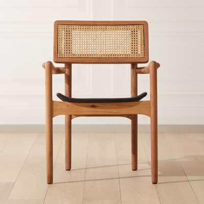 Moniker Cane Back Chair - CB2