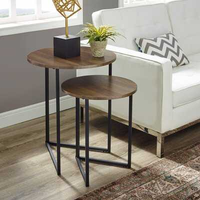 Mcnett 2 Piece Nesting Tables - Wayfair