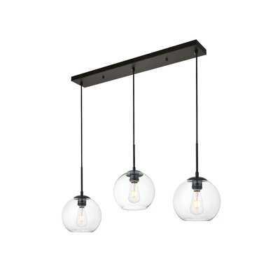 Effie 3-Light Cluster Globe Pendant - AllModern