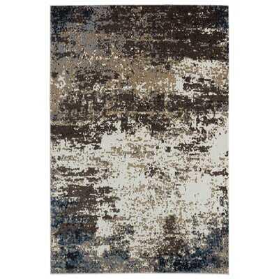 Abeyta Abstract Beige/Brown Area Rug - Wayfair