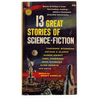 Booth & Williams 13 Great Stories of Science-Fiction, First Printing Authentic Decorative Book - Perigold